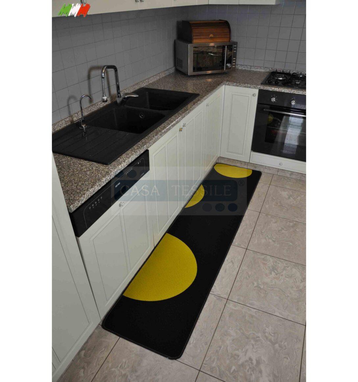 Large Size of Küche Teppich Sole Nero 50 Cm Breite Kche Casa Tessile Wanddeko Bodenbelag Mit Tresen Deko Für Spülbecken Einbauküche Ohne Kühlschrank Industrie Wohnzimmer Küche Teppich