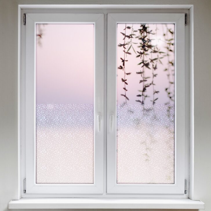 Medium Size of Fensterfolie Blickdicht Statische Sechseck Daytonde Wohnzimmer Fensterfolie Blickdicht