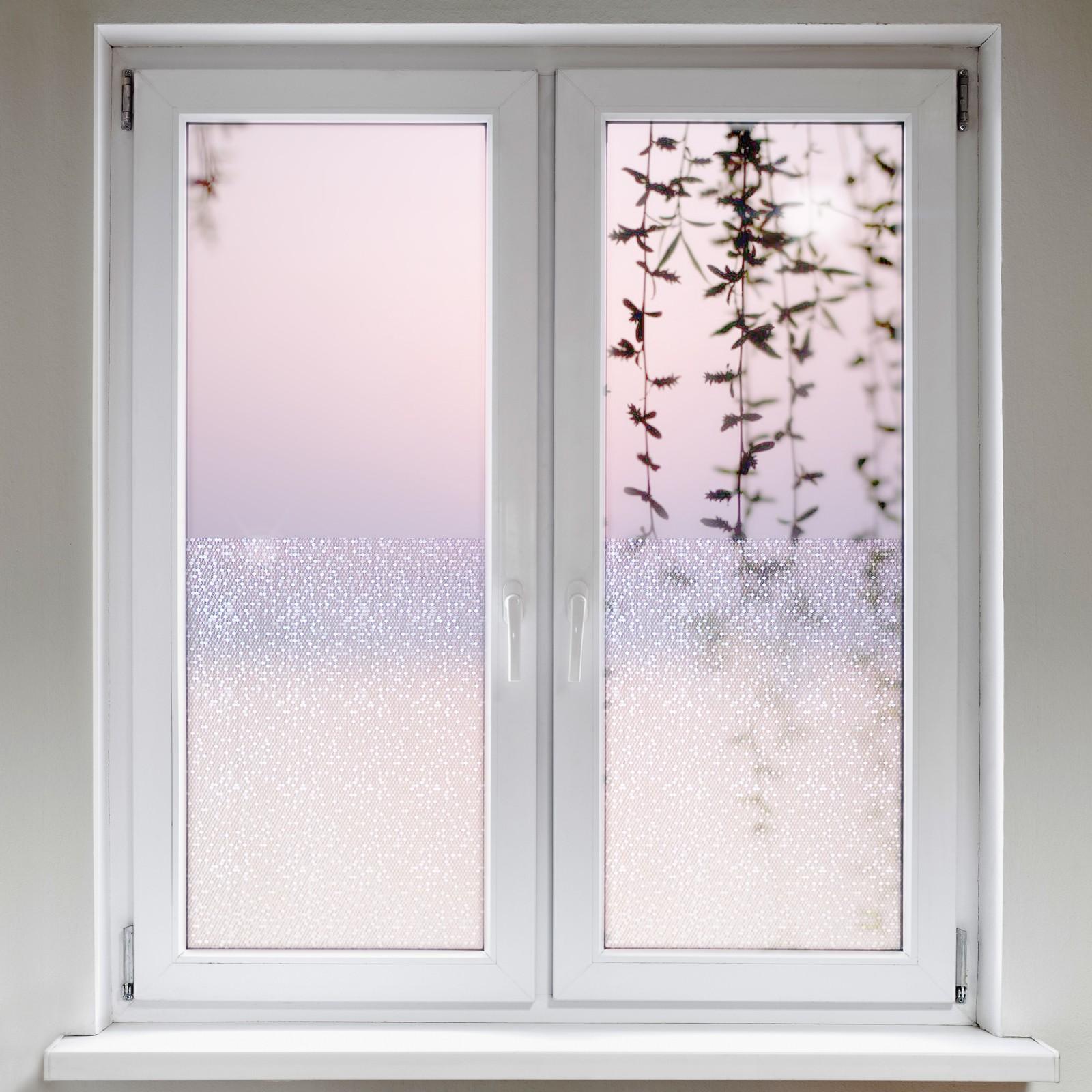 Full Size of Fensterfolie Blickdicht Statische Sechseck Daytonde Wohnzimmer Fensterfolie Blickdicht