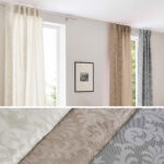 Jacquard Gardine Vorhang Barock Küche Vorhänge Wohnzimmer Schlafzimmer Wohnzimmer Vorhänge Schiene