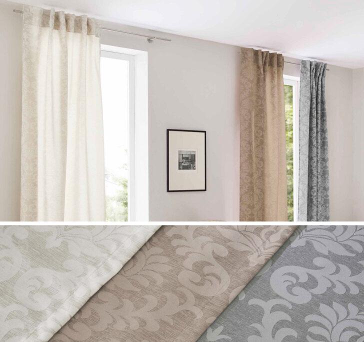 Medium Size of Jacquard Gardine Vorhang Barock Küche Vorhänge Wohnzimmer Schlafzimmer Wohnzimmer Vorhänge Schiene