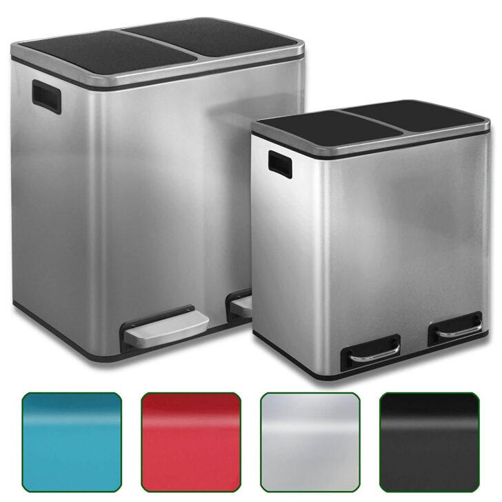 Medium Size of Doppel Mülleimer Tretabfalleimer Kaufen Alle Modelle Bestseller Küche Einbau Doppelblock Wohnzimmer Doppel Mülleimer