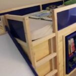 Kura Hack Ikea Bed With Slide And Secret Room Youtube Wohnzimmer Kura Hack