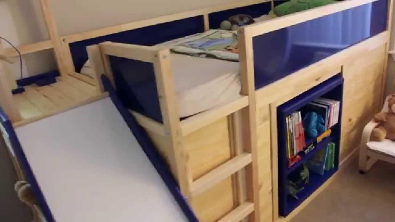 Full Size of Kura Hack Ikea Bed With Slide And Secret Room Youtube Wohnzimmer Kura Hack