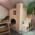 Kura Hack Wohnzimmer Kura Hack Ikea Bunk Bed Instructions Montessori House Storage Ideas 2 Beds Drawers Underneath Hacks Pinterest Nanodas Kreative Welt Eine Eigene Ritterburg Im