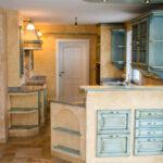 Gemauerte Küche Landhauskche Nizza Mediterrane Kchen Wasserhähne Miniküche Sitzecke Hochschrank Selbst Zusammenstellen Modulare Teppich Für Lampen Wohnzimmer Gemauerte Küche
