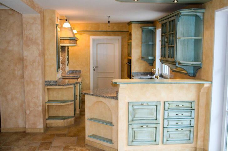 Medium Size of Gemauerte Küche Landhauskche Nizza Mediterrane Kchen Wasserhähne Miniküche Sitzecke Hochschrank Selbst Zusammenstellen Modulare Teppich Für Lampen Wohnzimmer Gemauerte Küche