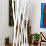 Paravent Bambus Wohnzimmer Paravent Bambus Raumteiler Paravento Wei Cab97xh200cm Sichtschutz Bett Garten
