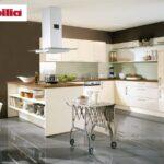 Nobilia Magnolia Inselkche 200 390 260 Cm Lack Ultra Hochglanz Küche Einbauküche Wohnzimmer Nobilia Magnolia