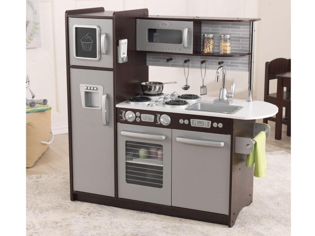 Large Size of Kidkraft Spielkche Uptown Espresso Lidlde Kinder Spielküche Wohnzimmer Spielküche