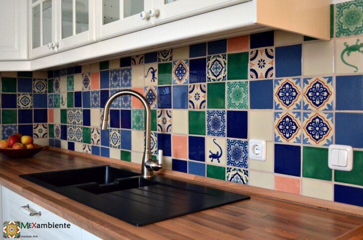 Medium Size of Küche Bodenfliesen Marokkanische Fliesen Fr Das Feriengefhl In Ihrer Kche Eckbank Holz Modern Led Beleuchtung Pentryküche Mit E Geräten Günstig Blende Wohnzimmer Küche Bodenfliesen