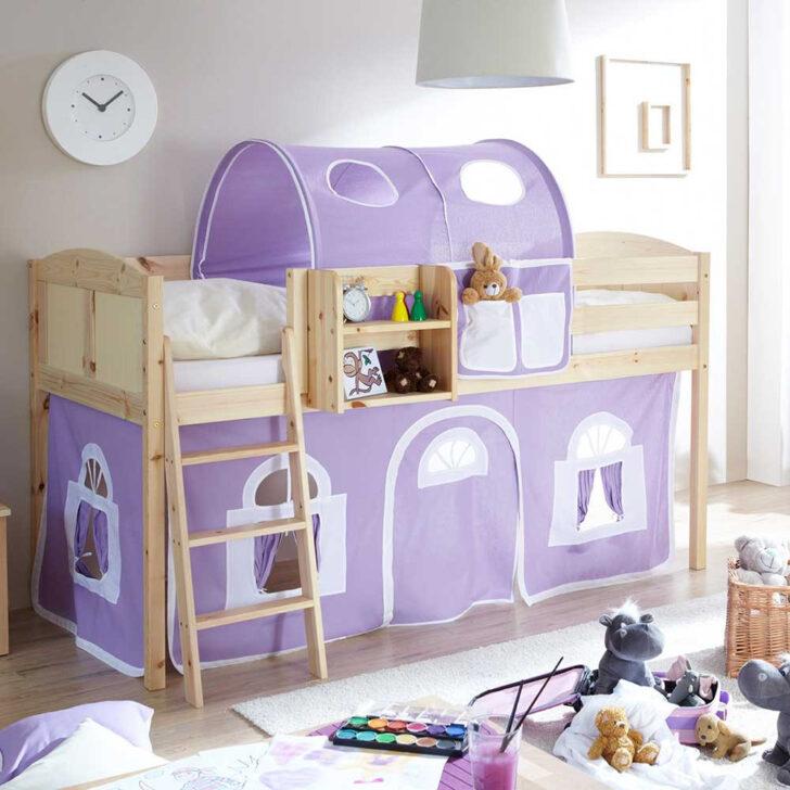 Medium Size of Mädchenbetten Mdchenbett Keuna Aus Kiefer Massivholz Mit Tunnel In Lila Wei Wohnzimmer Mädchenbetten