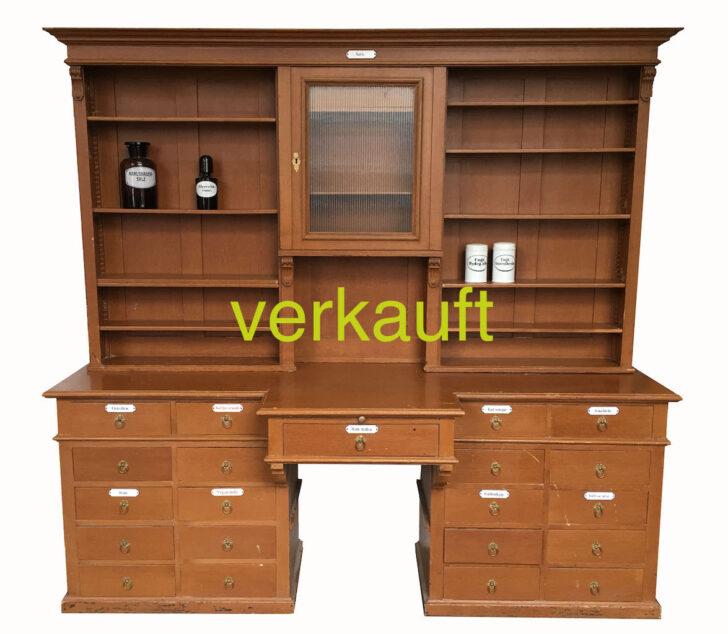 Medium Size of Mit Tren Edeltrdel Antike Mbel Apothekerschrank Küche Wohnzimmer Apothekerschrank Halbhoch