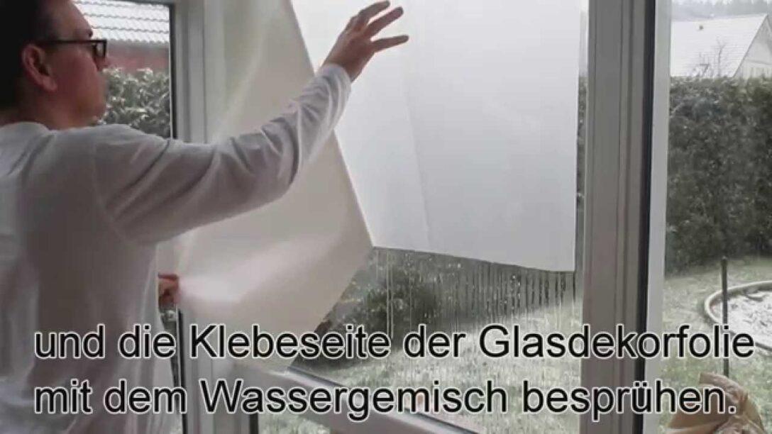 Large Size of Splitterschutzfolie Hornbach Fensterfolie Anbringen Trick Youtube Wohnzimmer Splitterschutzfolie Hornbach