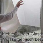 Splitterschutzfolie Hornbach Wohnzimmer Splitterschutzfolie Hornbach Fensterfolie Anbringen Trick Youtube
