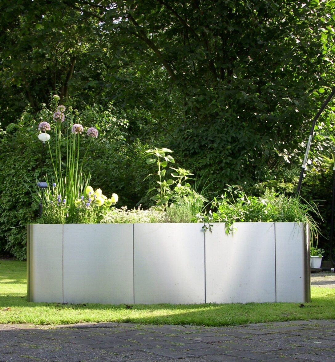Large Size of Garten Im Quadrat Hochbeet Square 163 Edelstahlküche Gebraucht Edelstahl Outdoor Küche Wohnzimmer Hochbeet Edelstahl