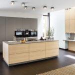 Ballerina Küchen Grifflose Moderne Kche Mit Kochinsel Regal Wohnzimmer Ballerina Küchen