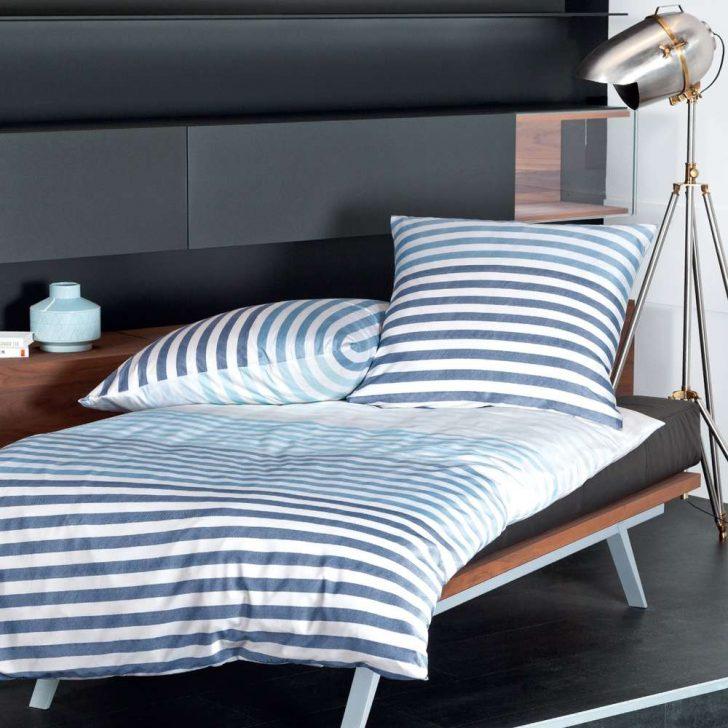 Medium Size of Mako Satin Bettwsche Maritim Gestreift 155x220 Von Nautic Home Bettwäsche Sprüche Wohnzimmer Bettwäsche 155x220