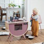 Sebra Spielkche Altrosa Kinderkchen Aus Holz Kaufen Hipster Baby Kinder Spielküche Wohnzimmer Spielküche
