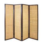 Paravent Bambus Wohnzimmer Paravent Bambus 4 Teiliger Acaso Aus Pharao24de Garten Bett