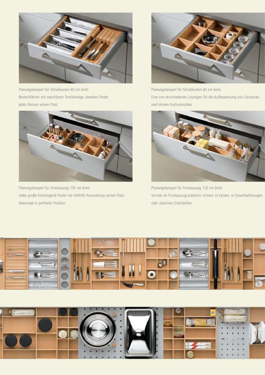 Full Size of Gewürze Schubladeneinsatz Seite 5 Von Varino Küche Wohnzimmer Gewürze Schubladeneinsatz