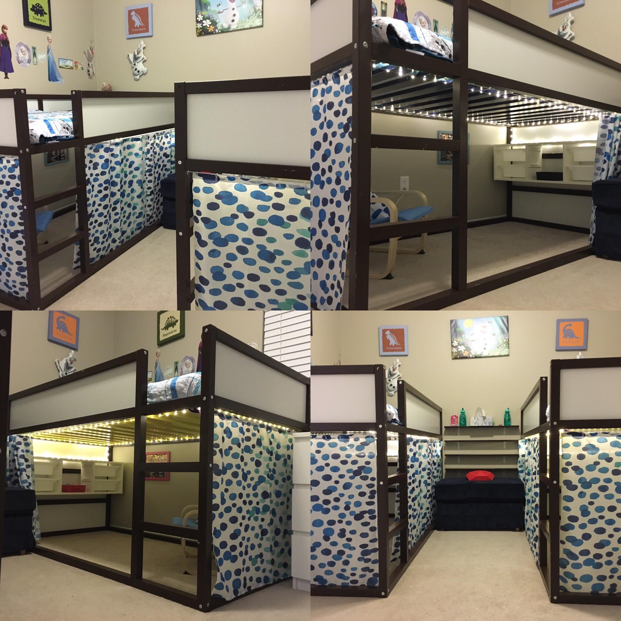 Full Size of Ikea Kura Hack House Bed Storage Montessori Ideas Floor Double Wohnzimmer Kura Hack