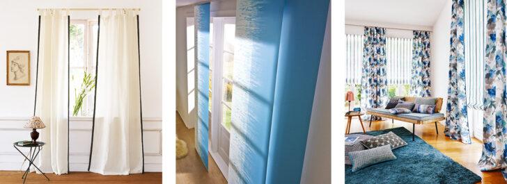 Medium Size of Wie Man Vorhnge Gekonnt Aufhngt Moebelde Vorhänge Küche Wohnzimmer Schlafzimmer Wohnzimmer Vorhänge Schiene
