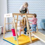 1 Kidwood Klettergerst Rakete Sport Set Aus Holz Fr Indoor Klettergerüst Garten Wohnzimmer Kidwood Klettergerüst