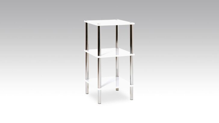 Medium Size of Regalwürfel Metall Regal Im Badezimmer Oder Als Beistelltisch Einsetzbar Bett Regale Weiß Wohnzimmer Regalwürfel Metall