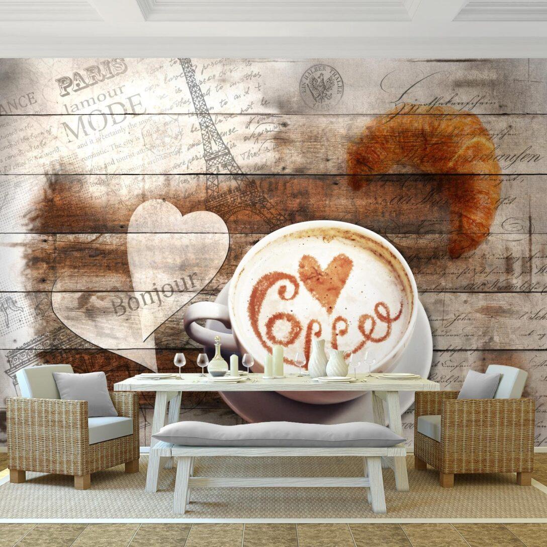 Large Size of Tapeten Fototapeten Kche Kaffe Vlies Wand Tapete Wohnzimmer Einlegeböden Küche Blende Einbau Mülleimer Landhaus Kräutertopf Modulküche Holz Keramik Wohnzimmer Tapete Küche Kaffee