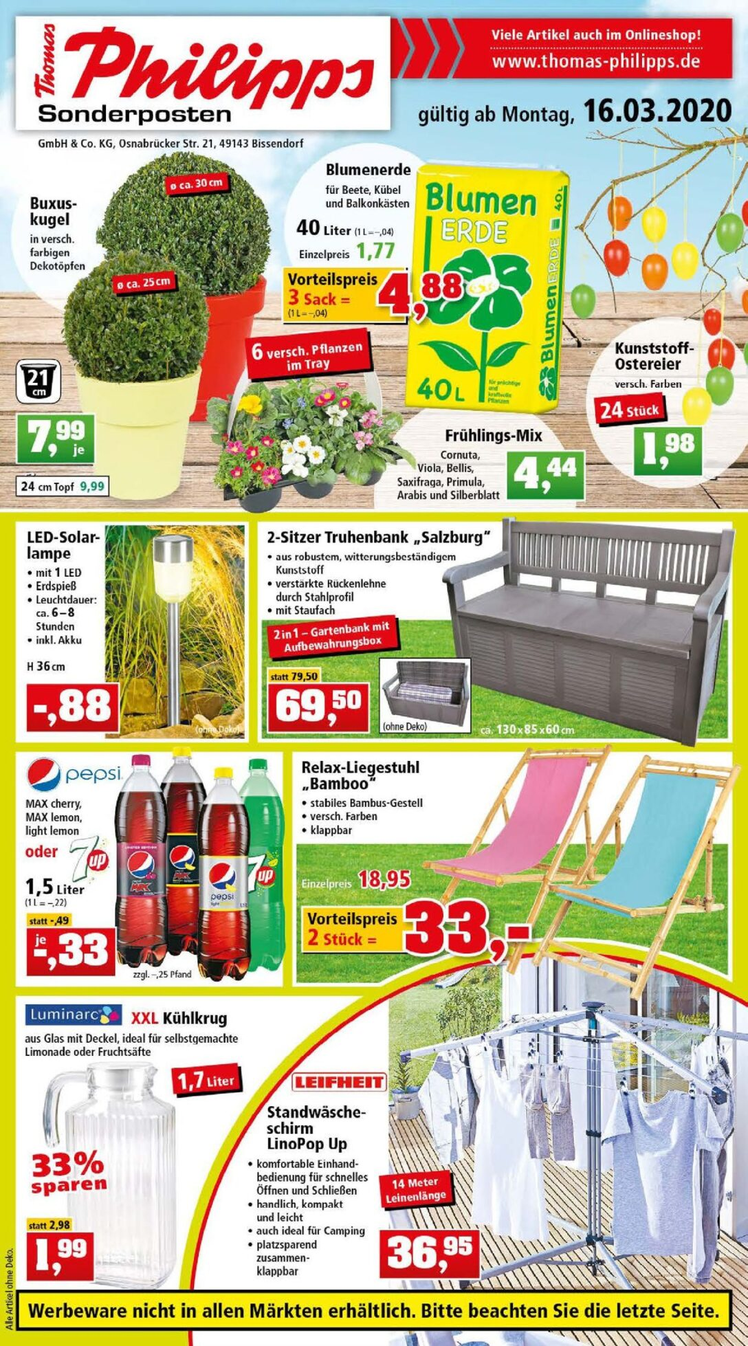 Large Size of Aldi Gartenbank Klappbar 2019 Kinder Aluminium Alu 2018 2020 Thomas Philipps Prospekt 1603 21032020 Rabato Relaxsessel Garten Wohnzimmer Aldi Gartenbank