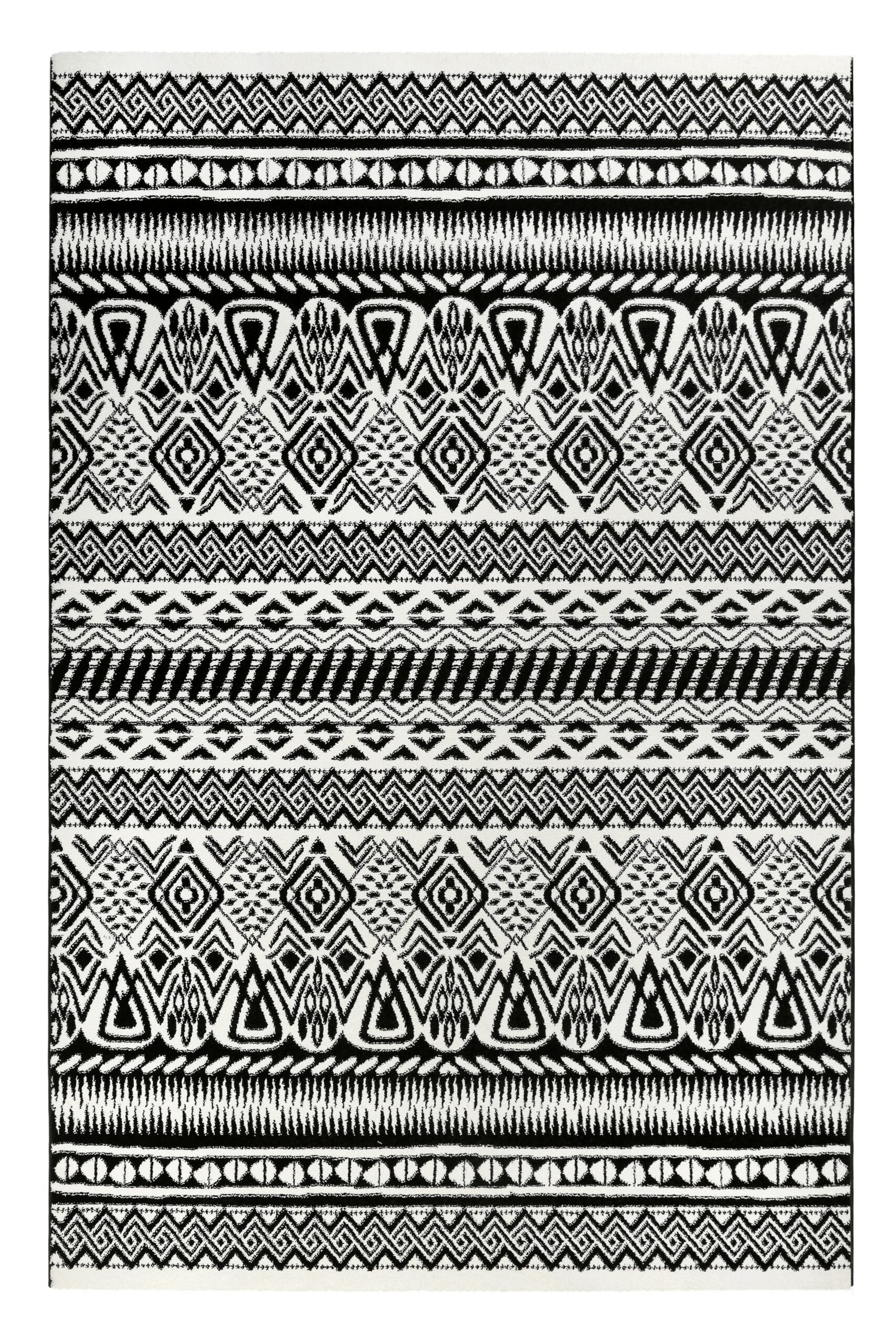 Full Size of Esprit Kurzflor Teppich Black White Schwarz Wei In 2020 Esstisch Weiß Oval Sofa Grau Bett 160x200 100x200 Bad Regal 140x200 Schlafzimmer Hängeschrank Wohnzimmer Teppich Schwarz Weiß