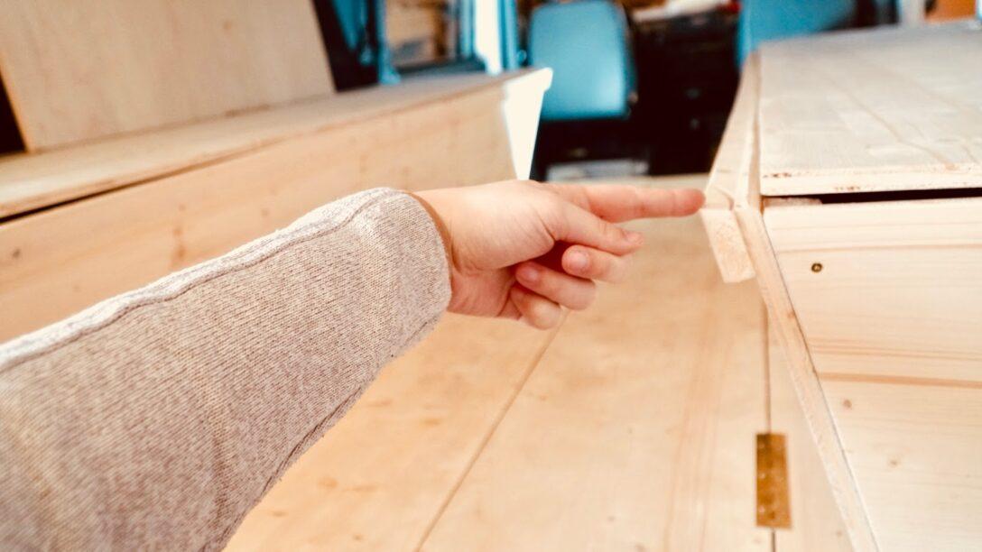 Large Size of Sitzecke Selber Machen Vom Sprinter Zum Wohnmobil Bettbau Und Teil 6 Kopfteil Bett Bauen Regale 180x200 140x200 Einbauküche Fliesenspiegel Küche Boxspring Wohnzimmer Sitzecke Selber Machen