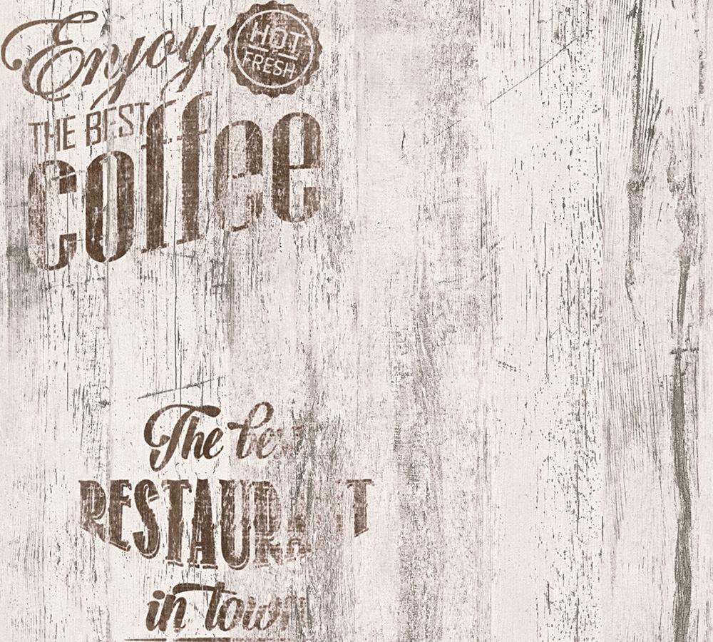 Full Size of Tapete Coffee Kche Bistro Grau As Creation 33481 2 Holzküche Outdoor Küche Edelstahl Wandpaneel Glas Nolte Holzofen Singleküche Schwarze Wanduhr Wohnzimmer Wohnzimmer Retro Tapete Küche