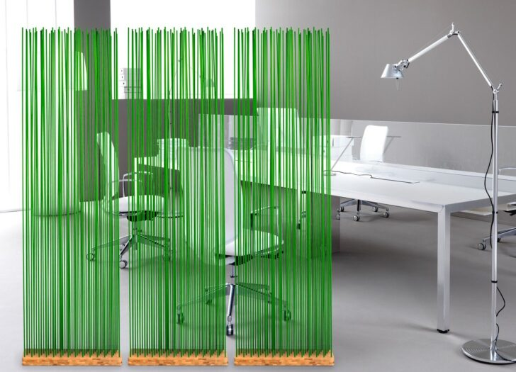 Medium Size of Paravent Bambus Grne Raumteiler Raumtrenner Fr Bro Bros Mit Garten Bett Wohnzimmer Paravent Bambus