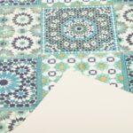 Vinyl Teppich Wohnzimmer Vinyl Teppich Kchenlufer Evora Mosaik Fliesenoptik Trkis Lufer Wohnzimmer Vinylboden Bad Teppiche Schlafzimmer Esstisch Für Küche Badezimmer Fürs Im
