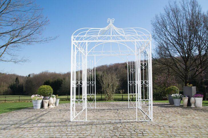 Medium Size of Pavillon Eisen Traumhaft Schner Im Antiklook Eh Mbel Garten Wohnzimmer Pavillon Eisen