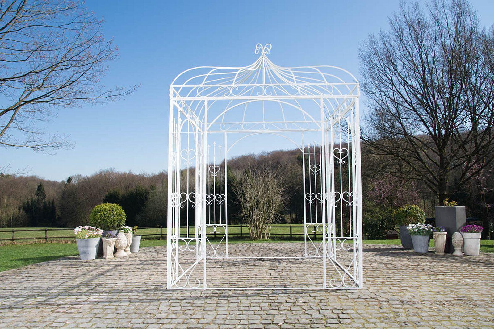 Full Size of Pavillon Eisen Traumhaft Schner Im Antiklook Eh Mbel Garten Wohnzimmer Pavillon Eisen