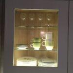 Glas Hängeschrank Küche Wohnzimmer Hngeschrank Kche Falttr Einstellen Glas Schwarz Milchglas Wei Poco Küche Tapeten Für Die Stengel Miniküche Esstisch Hängeschrank Höhe Modern Weiss