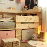 Kinderbett Diy Aus Europaletten Selber Bauen Handmade Kultur Wohnzimmer Kinderbett Diy