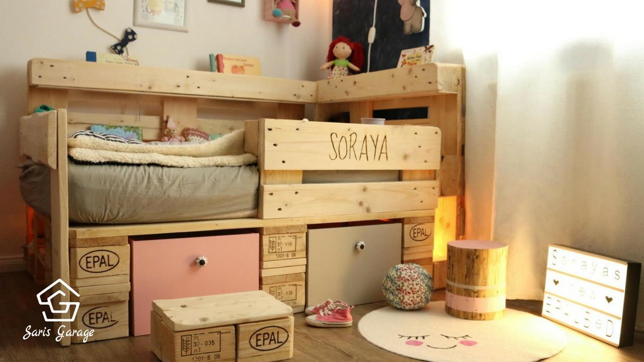 Full Size of Kinderbett Diy Aus Europaletten Selber Bauen Handmade Kultur Wohnzimmer Kinderbett Diy