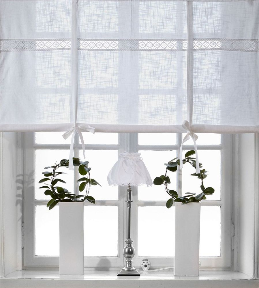 Full Size of Küchen Raffrollo Julia Weiss 160x120cm Vorhang Raffgardine Landhaus Regal Küche Wohnzimmer Küchen Raffrollo