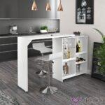Küchen Bartisch Wohnzimmer Vicco Bartisch Bar Vega Wei Tresen Bartresen Stehtisch Tisch Küche Küchen Regal