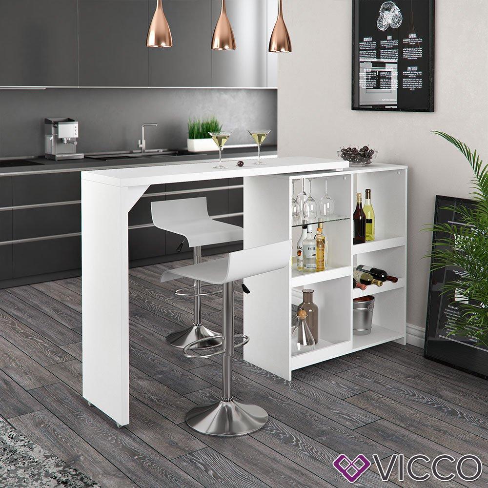 Full Size of Vicco Bartisch Bar Vega Wei Tresen Bartresen Stehtisch Tisch Küche Küchen Regal Wohnzimmer Küchen Bartisch