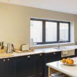 Zweifarbige Raumgestaltung Der Kche Inspiration Wagner Deckenleuchte Küche Doppel Mülleimer Stehhilfe Modul Mit Insel Einbauküche Günstig Kaufen Led Wohnzimmer Küche Zweifarbig