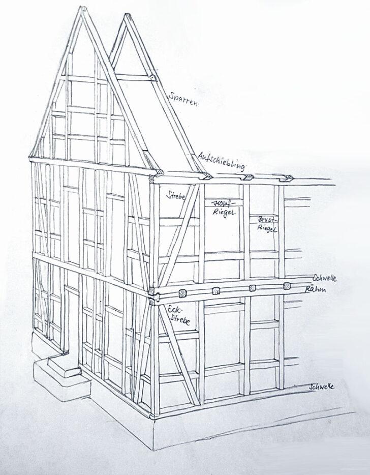 Medium Size of Eichenbalken Kaufen Bauhaus Fachwerksanierung Und Modernisierung Selbst Durchfhren Fenster Wohnzimmer Eichenbalken Bauhaus