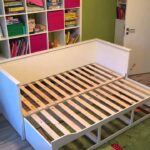 Ausziehbares Doppelbett Ikea Ausziehbare Doppelbettcouch Bett Wohnzimmer Ausziehbares Doppelbett