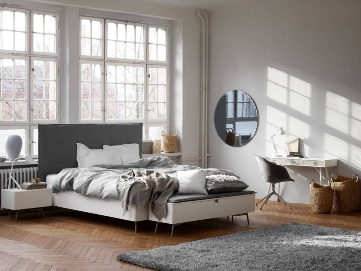 Medium Size of Lugano Design Bett By Boconcept Experience Ausklappbar Betten Bei Ikea Home Affaire Mit Stauraum 160x200 Selber Bauen 140x200 Big Sofa Schlaffunktion 1 40x2 00 Wohnzimmer Bett Mit überbau