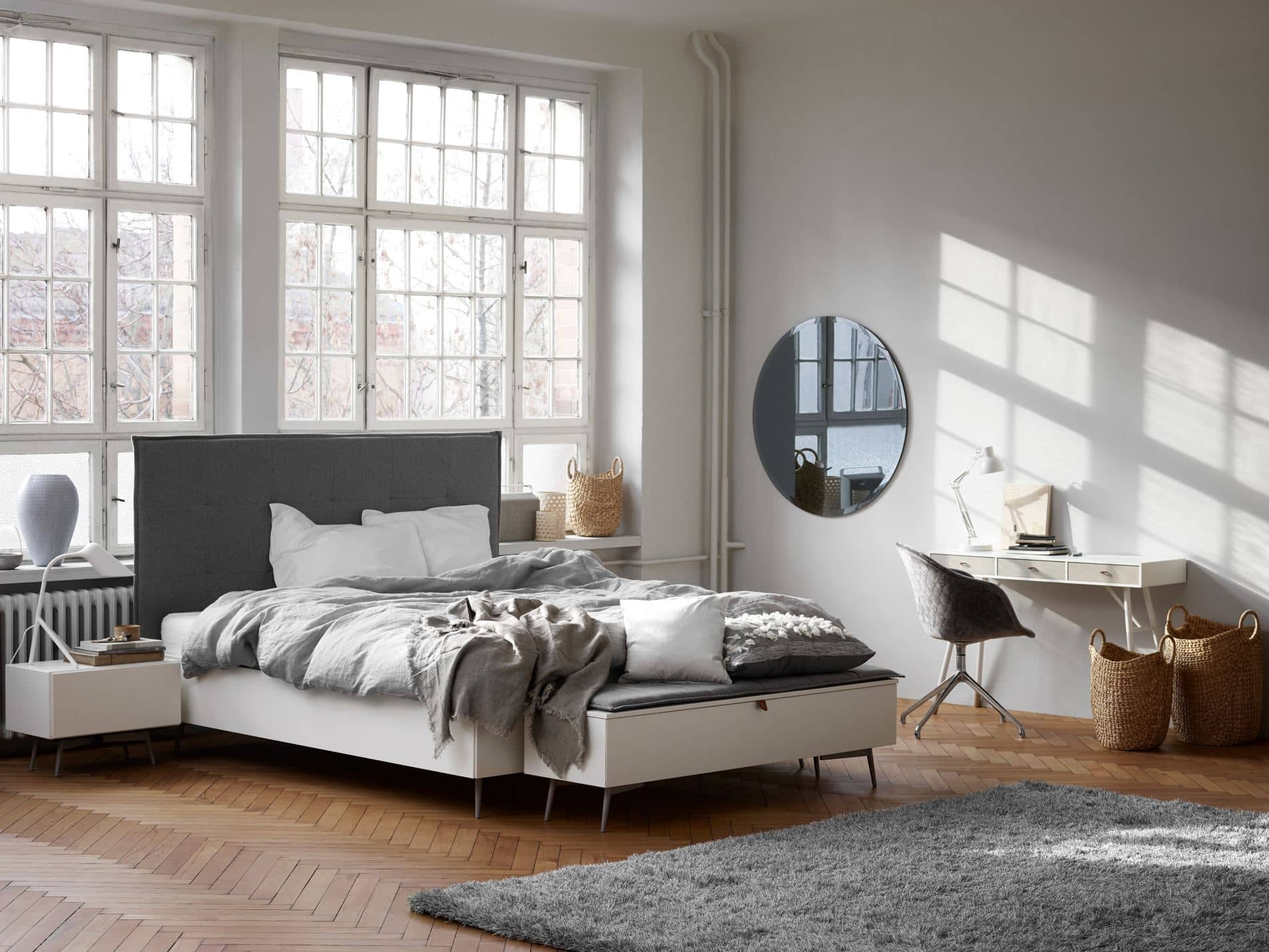 Full Size of Lugano Design Bett By Boconcept Experience Ausklappbar Betten Bei Ikea Home Affaire Mit Stauraum 160x200 Selber Bauen 140x200 Big Sofa Schlaffunktion 1 40x2 00 Wohnzimmer Bett Mit überbau