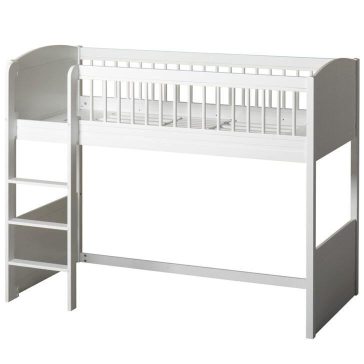 Medium Size of Oliver Furniture Seaside Lille Halbhohes Hochbett Wei Online Bett Wohnzimmer Halbhohes Hochbett